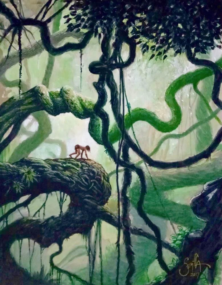 The Jungle Book by Tonio